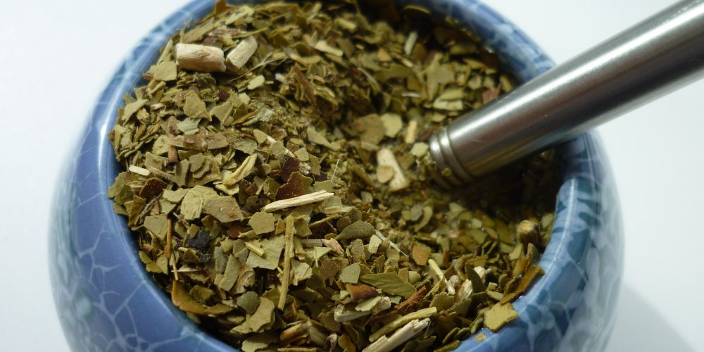 Paragwajska herbata, czyli yerba mate.